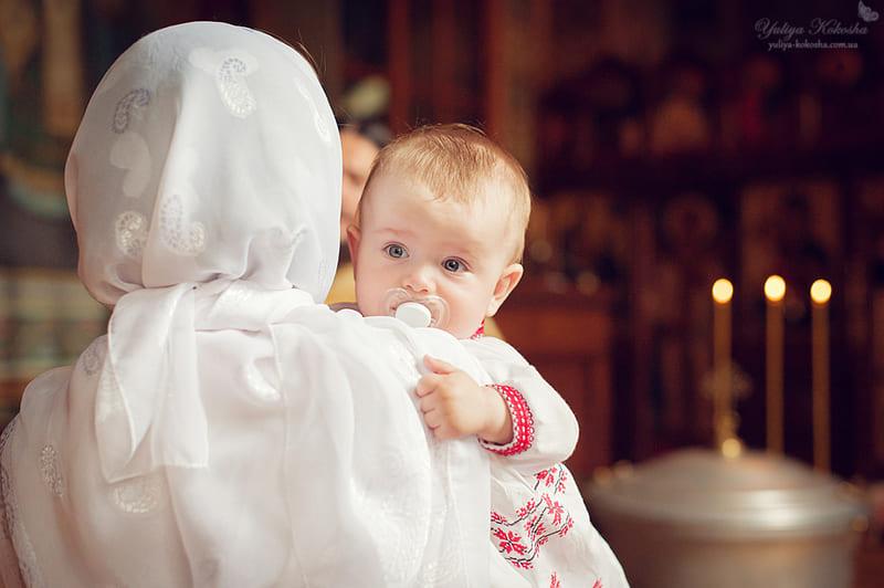 Крещение мальчика как традиционный православный обряд